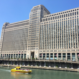 Build a Merchandise Mart Riverwalk