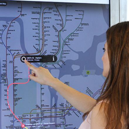 Large subway large verge medium landscape