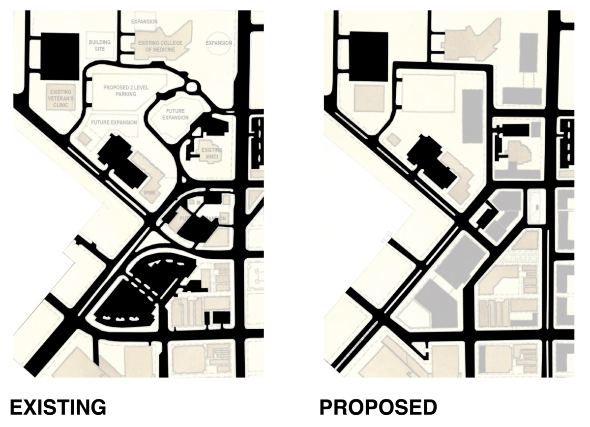 Repair the Continuity of the Street System