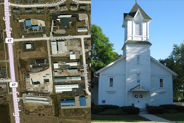 Religious Institutions in Manufacturing Districts