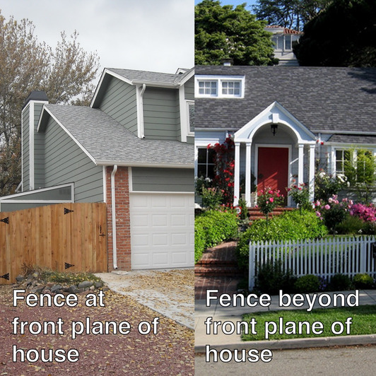 Fence Placement On Residential Properties