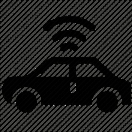 Large autonomous vehicles icon