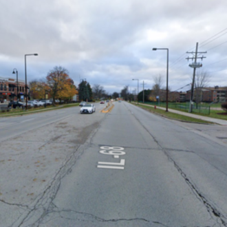 Enhance pedestrian & bicycle safety along Dundee Road