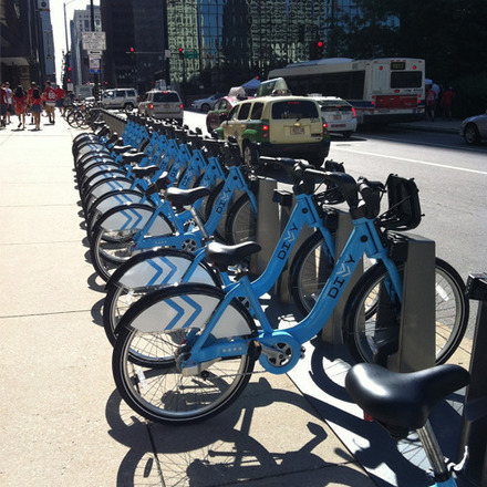 Large 02 divvy bike station