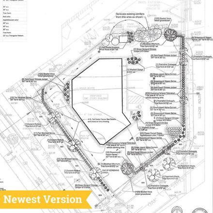 Large caw il plainfield dunkin donuts proposal site plan w. landscape s t2 140512