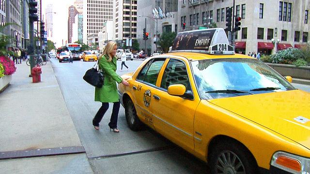 Taxi Stand at Adler Planetarium