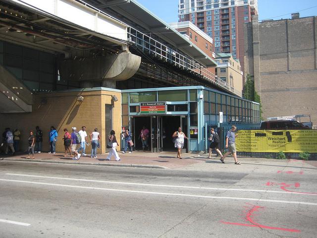 Improved Sidewalk on Roosevelt Road