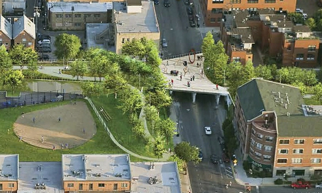 Extend the 606/Bloomingdale Trail to Connect to East Riverbank and Cortland