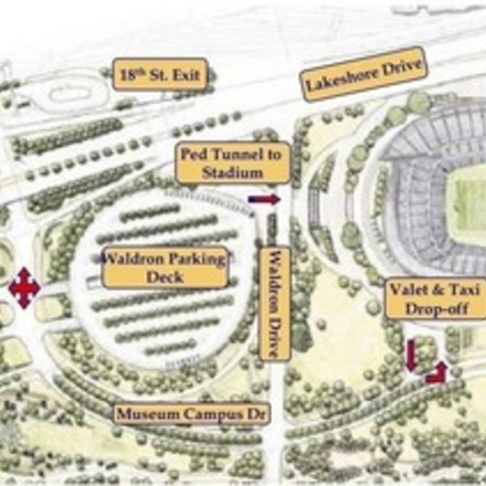 Large soldierfieldparkinglayout