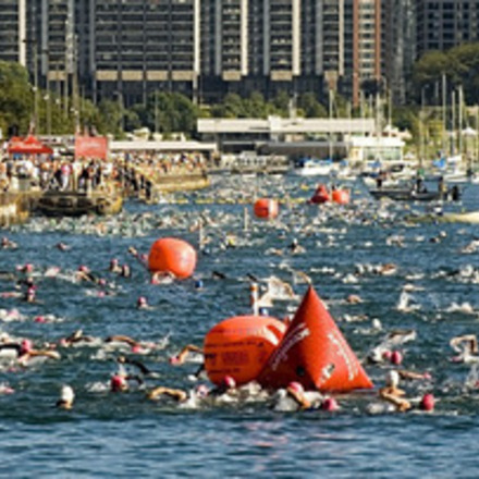 Large km 5939 triathlon swimmers