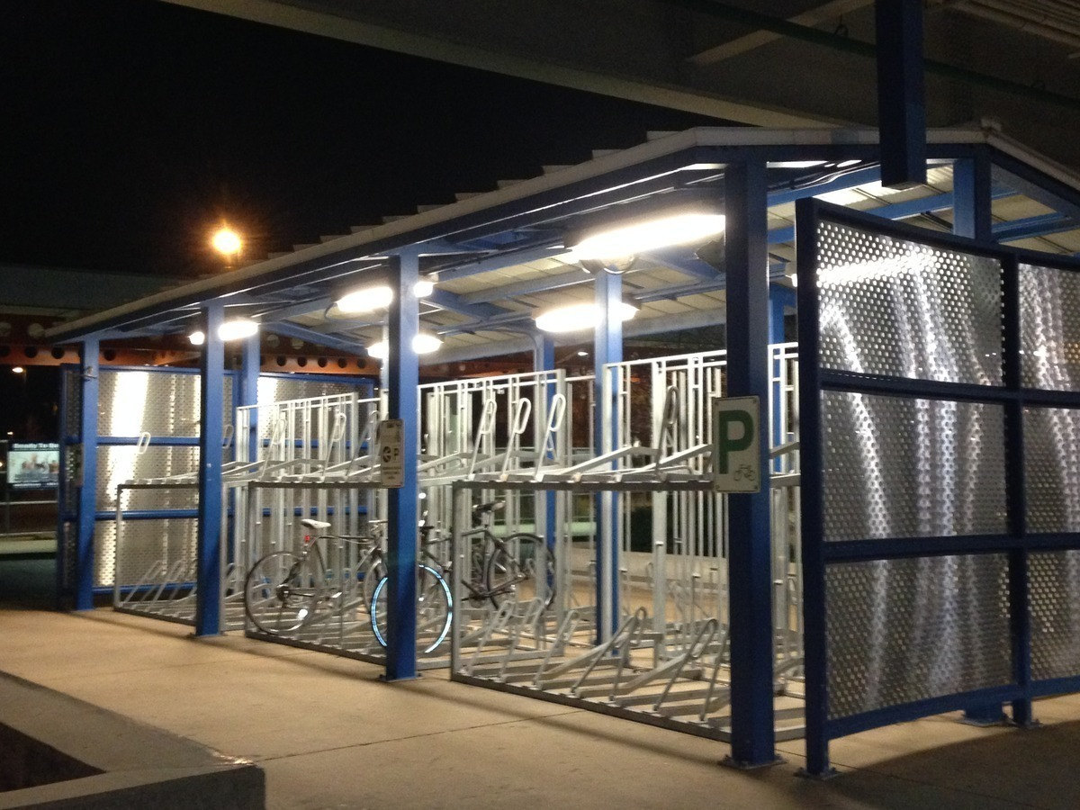 Install Multi-level Bike Parking