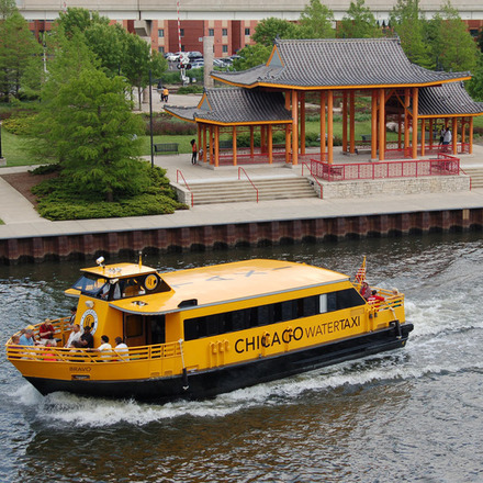 Large watertaxi