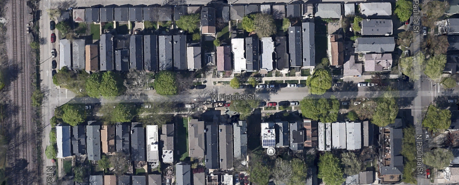 Turn the road on the 1700 block of Fletcher into a park