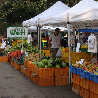 Bring Green City Market to the Site