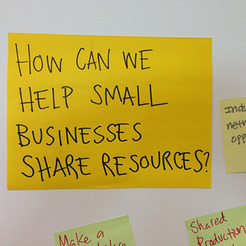 Small shareresources
