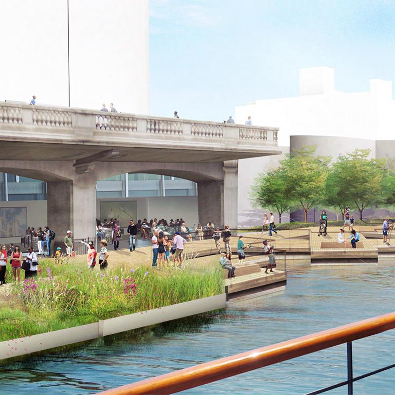Add Riverfront Amenities