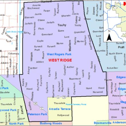 Large west ridge