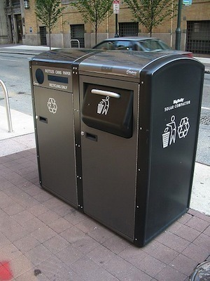 Data-powered street furniture