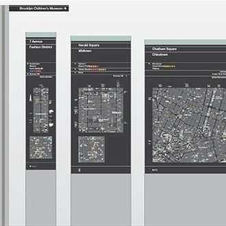 Pedestrian maps that are a feat of design and data