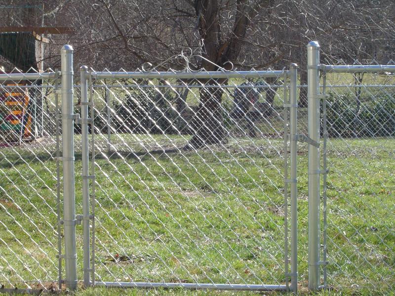 Galvanized Chain Link Fences