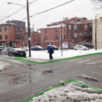 SNECKDOWN: Turn Unused Traffic Space into Public Space
