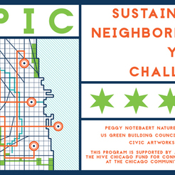 Small caw il chicago epic youth sustainability challenge logo app