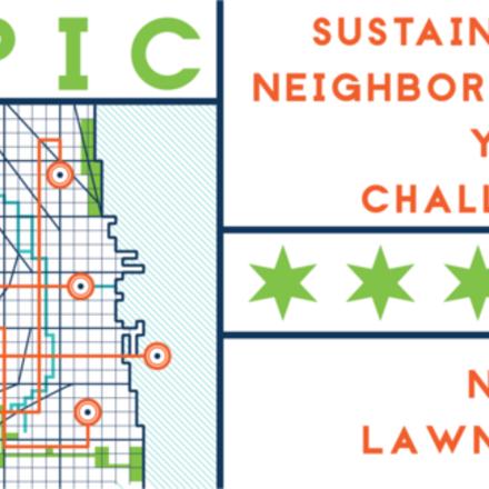 Large epic challenge logo app north lawndale